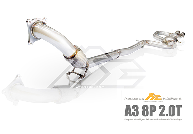 Audi A3 8P 2.0TFSi Catalytic Catless Cat Down Pipe
