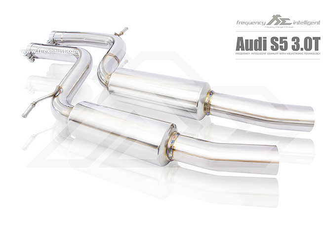 Audi S5 Center resonators to reduce the drone