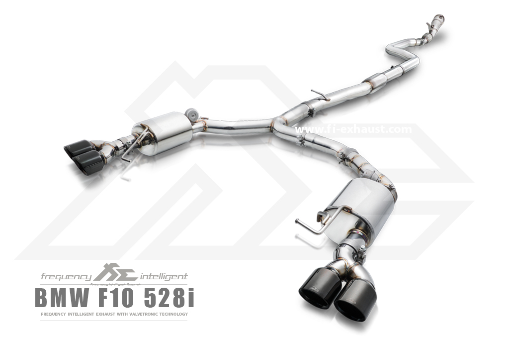 BMW 528i f10 exhaust_1