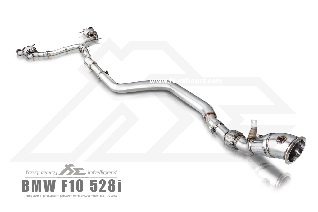 BMW 528i f10 exhaust_2