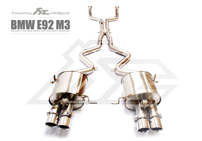 BMW E90 E91 E92 E93 M3 exhaust3