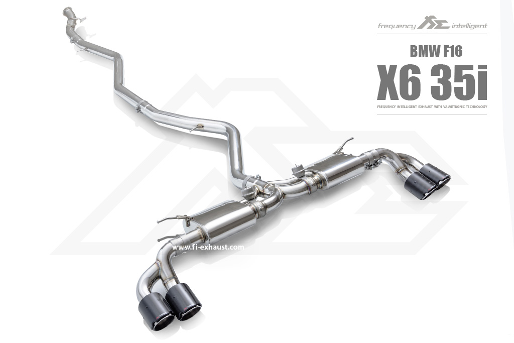 BMW e71 x6 35i Exhaust_1