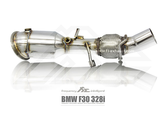 BMW F30 328i Ultra High Flow Catless Cat Pipe