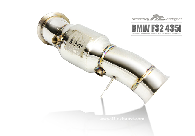 BMW F32 435i Ultra High Flow Catless Cat Pipe
