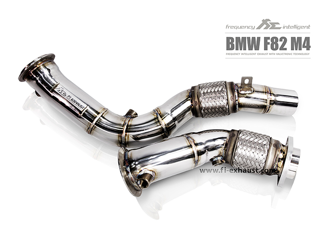 BMW F82 M4 Ultra High Flow Catless Cat Pipe