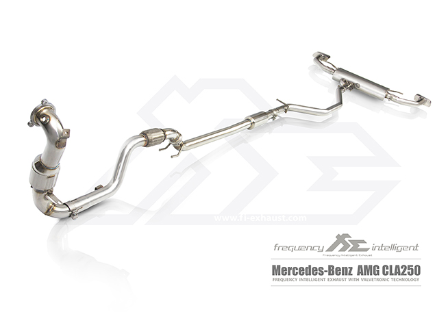 MERCEDES-BENZ AMG CLA250 Exhaust System