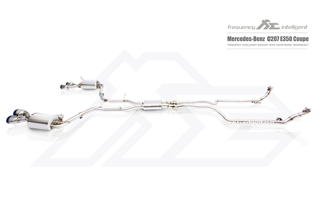 MERCEDES-BENZ c207 e350 coupe Catalytic Catless Cat Down Pipe Valvetronic Muffler Exhaust