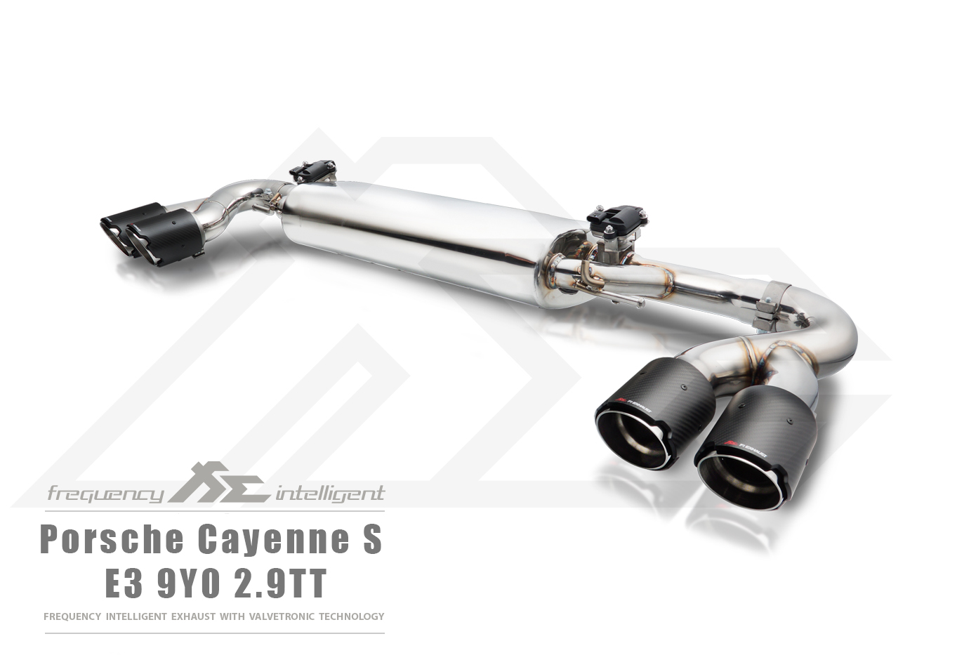 Cayenne S 2.9TT Front Pipe